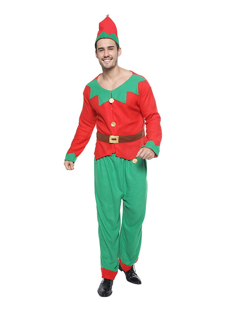 Christmas Costume Elf Cosplay Family Matching Clothing
