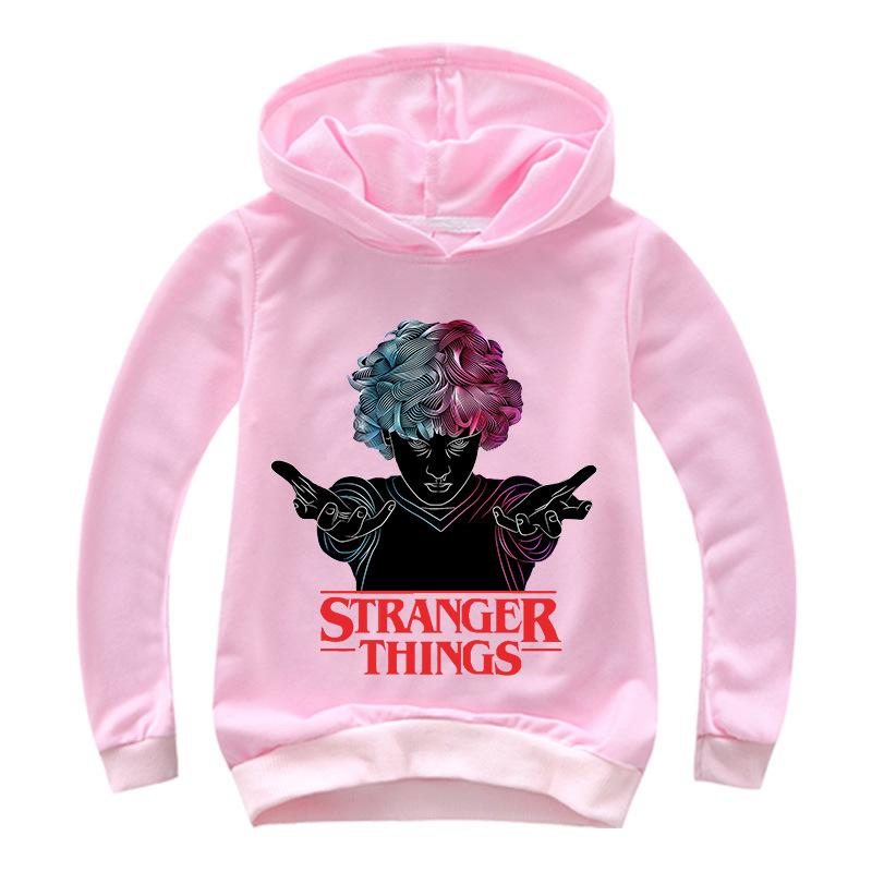 Kids Stranger Things Hoodie Sweatshirts Long Sleeve Kids Clothes Top