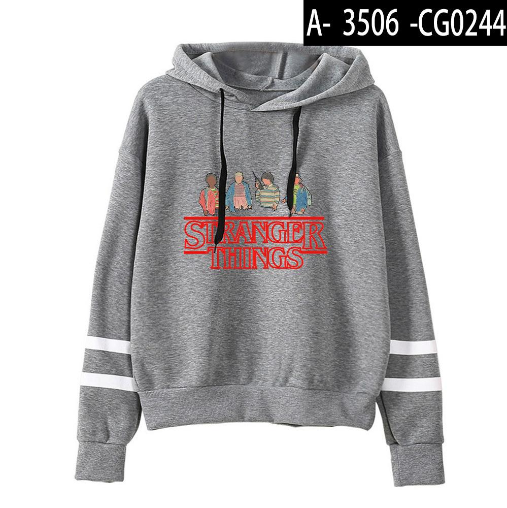 Stranger Things Hoodie Fashion Printed Long Sleeve Hoody