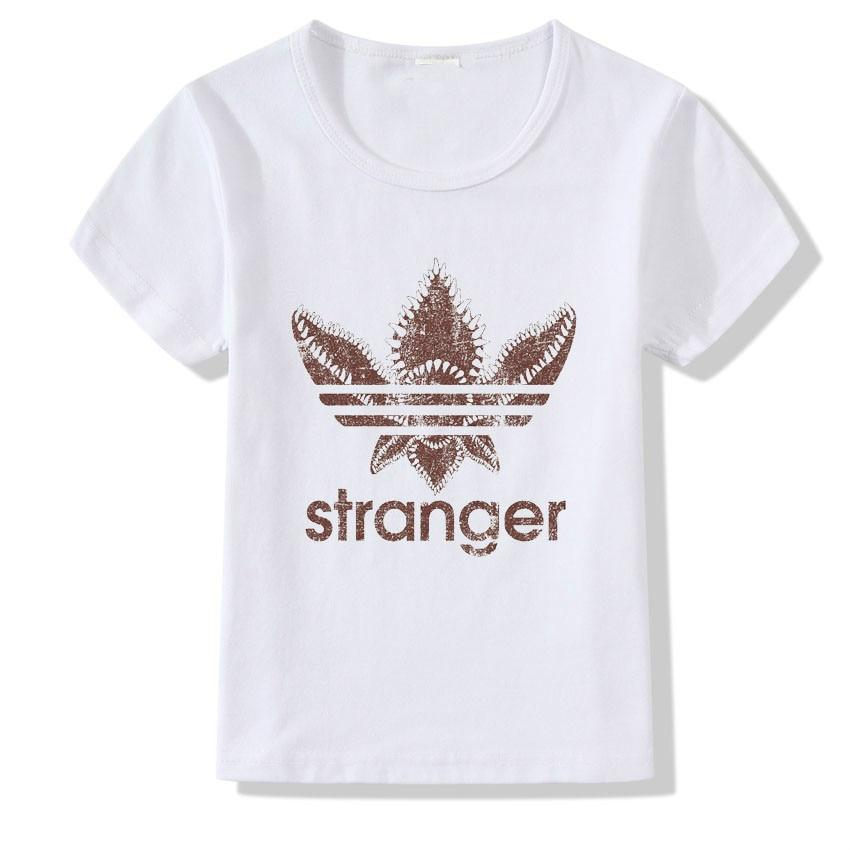Kids Stranger Things T Shirt Casual O Neck Tops