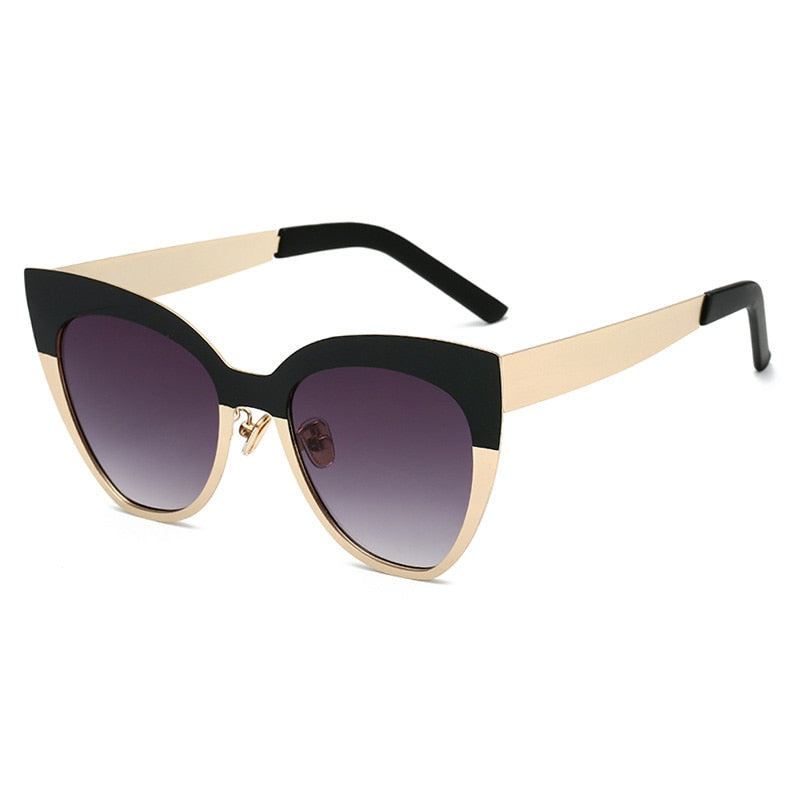 Cat Eye Sunglasses Tinted Color Lens Vintage Shaped Eyewear Accessories