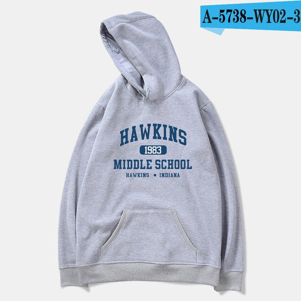 Stranger Things Season 3 Sweatshirt Tv Series Hoodie Oversized Casual Winter Hoodies