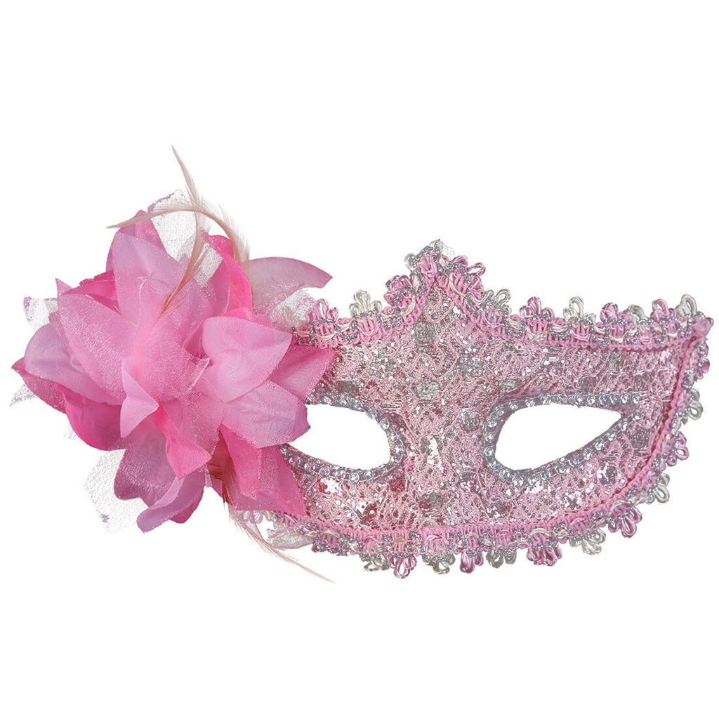 Masquerade Carnival Prop Sexy Feather Lace Eye Mask