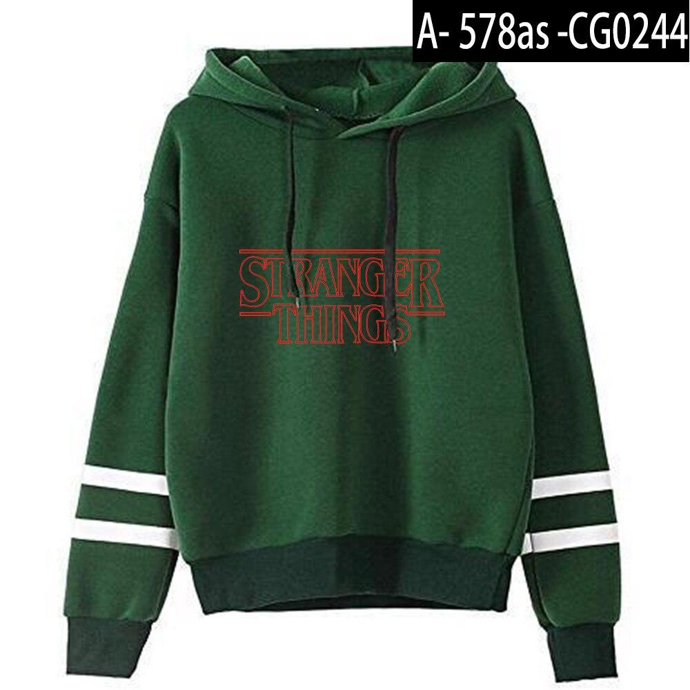 Stranger Things TV Series Hoodie Fashion Printed Long Sleeve Hoody