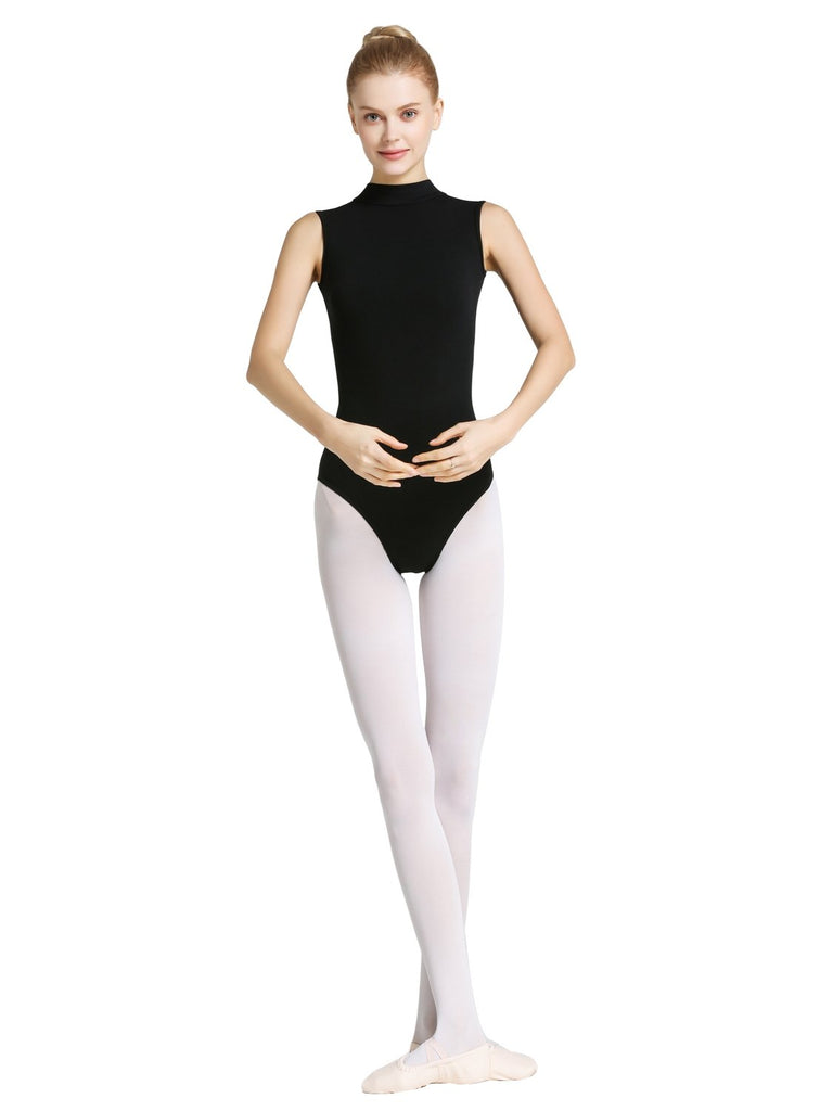 Ballet Backless Leotard With Mesh