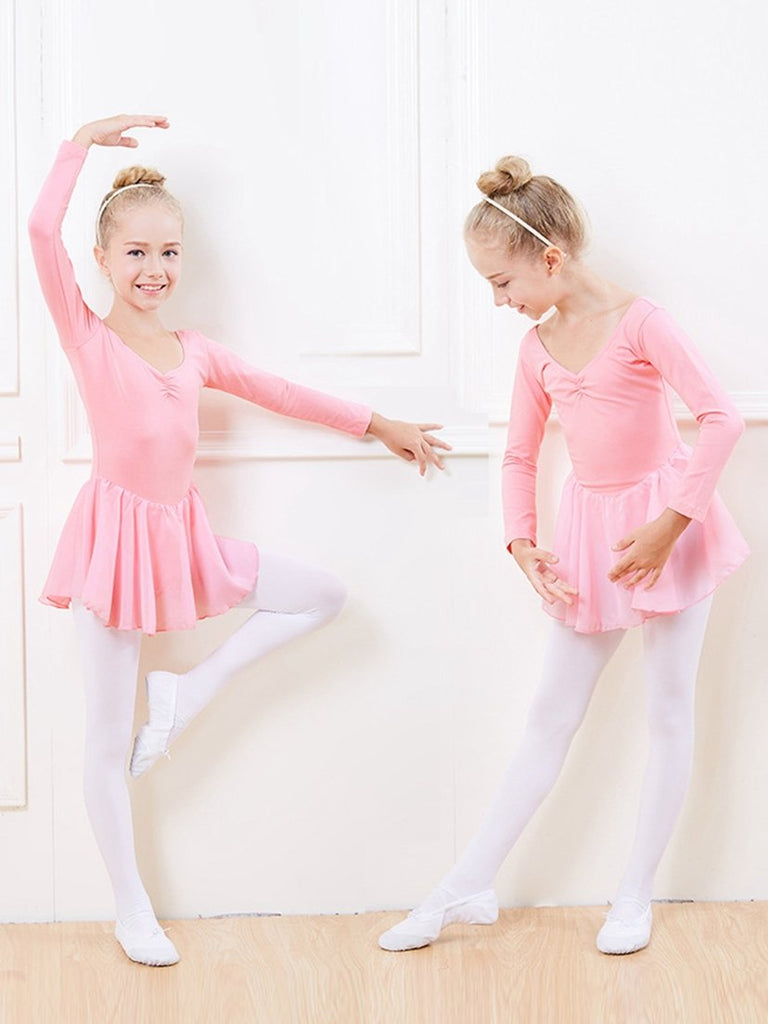 Simple Girls Ballet Skirted Leotard