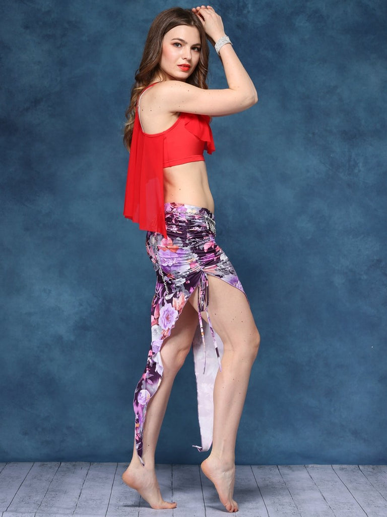 Excellent Fabrics Comfortable Belly Dance practicing Costume