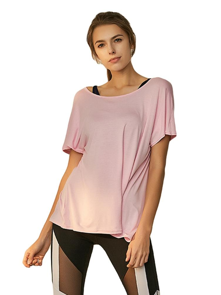 Women's Short-Sleeve Dry Yoga Top