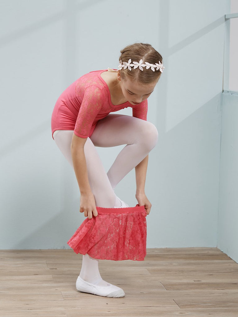 Short-sleeved lace light and breathable tutu