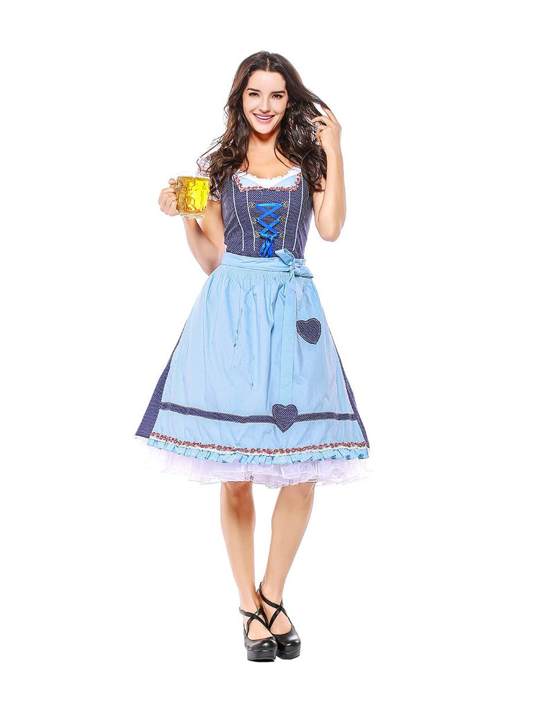 Womens Fraulein Costume for Bavarian Oktoberfest