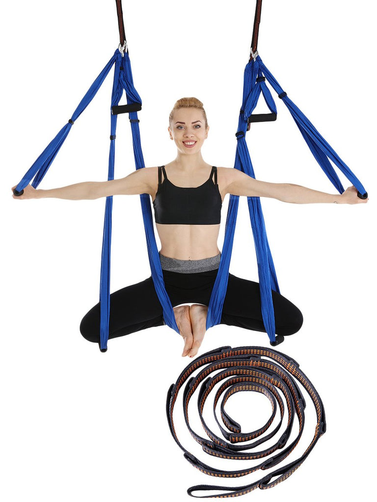 Yoga Hammock Set With Extended Belt Stretch Belt Parachute Cloth