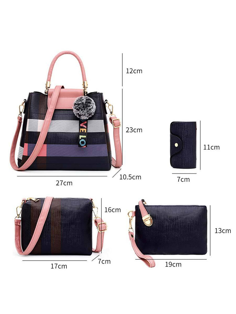 Women Handbag Simple Child-mother Four-piece Bag