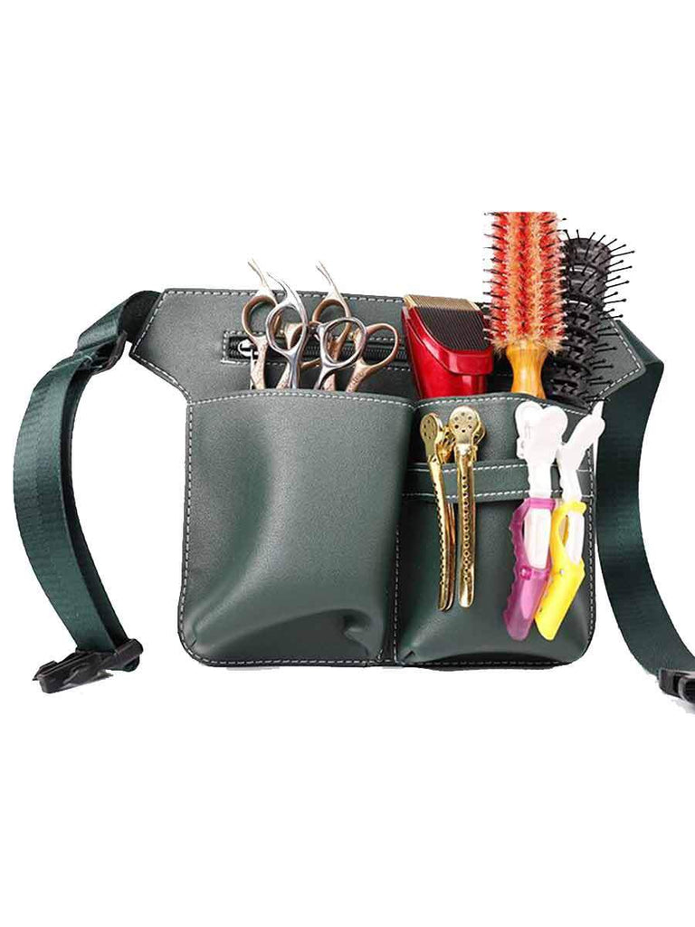 Barber Pouch Scissors Kit Waist Bag For Hairdressers