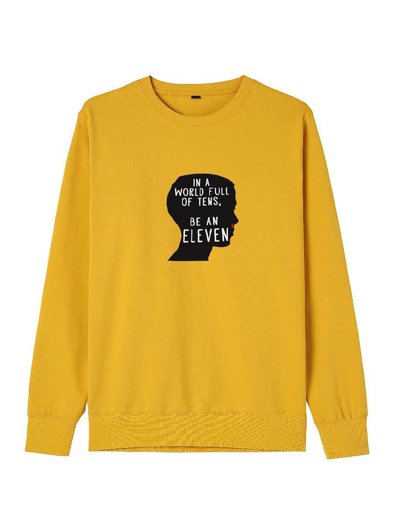 Stranger Things Clothes In A World Full Sf Tens Be An Eleven Pullover