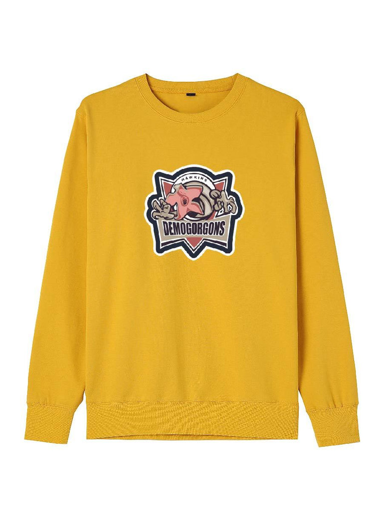 Stranger Things Clothes Cute Demogorgons Printing O-neck Pullover