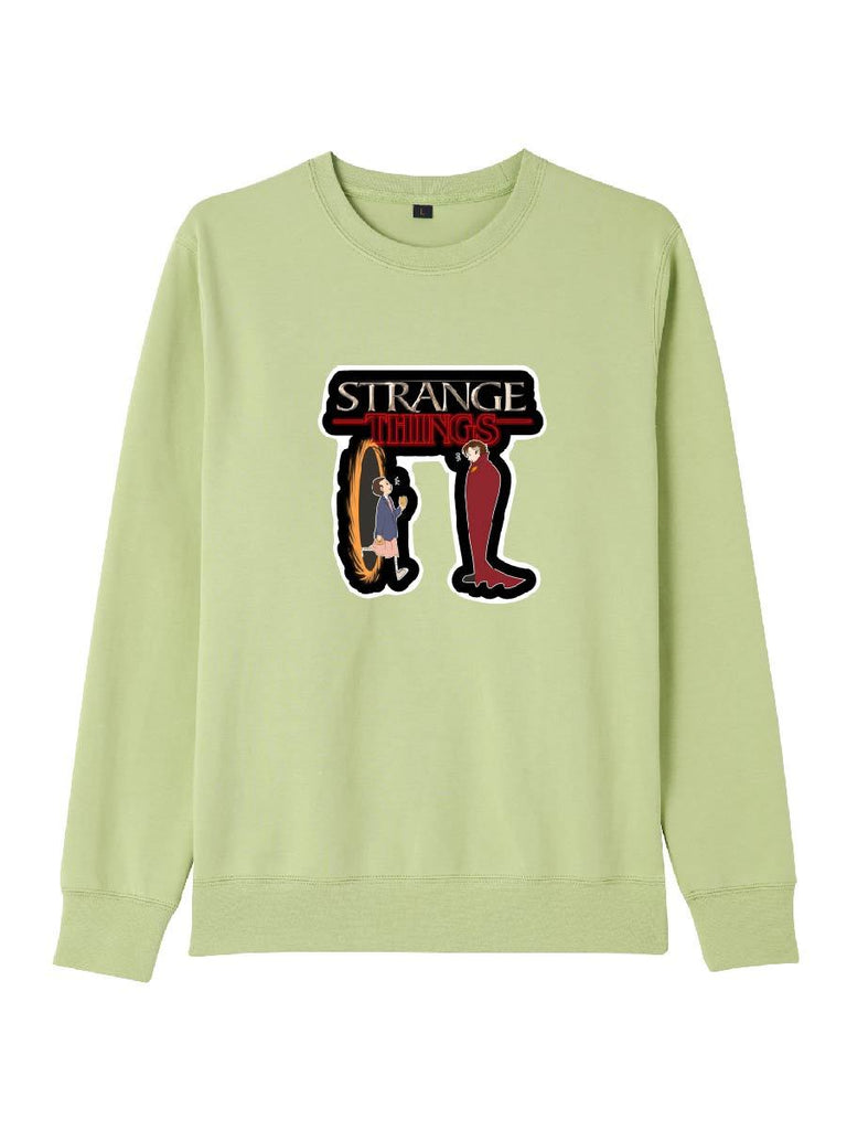 Stranger Things Clothes Reverse Time Printing Sweatershirt