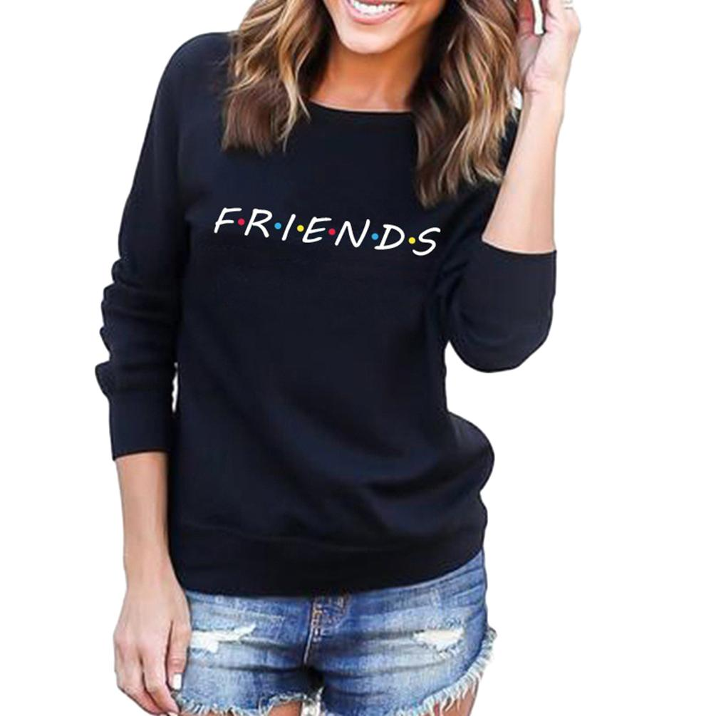 Womens Long Sleeve Sweatshirt Casual Pullover For Autumn And Winter