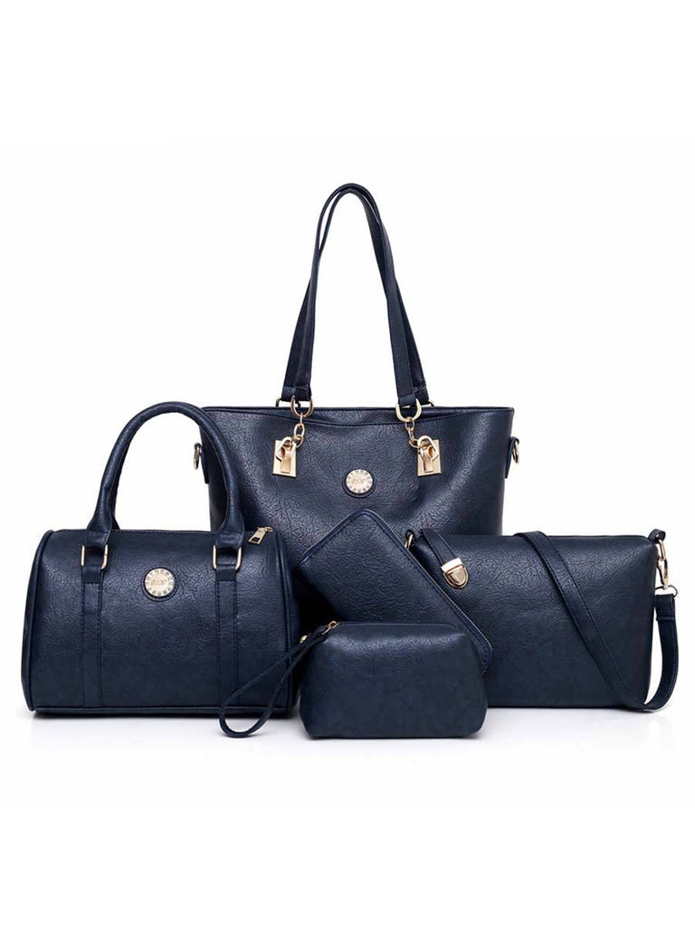 Female Composite Bag High-Quality PU Leather 5-Piece Set