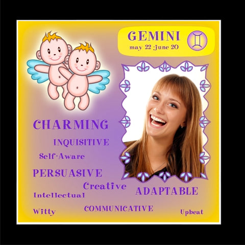 GEMINI 'Positive' Tile