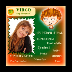 VIRGO 'Not so Positive' Tile