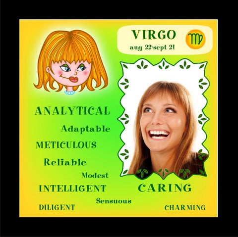 VIRGO 'Positive' Tile