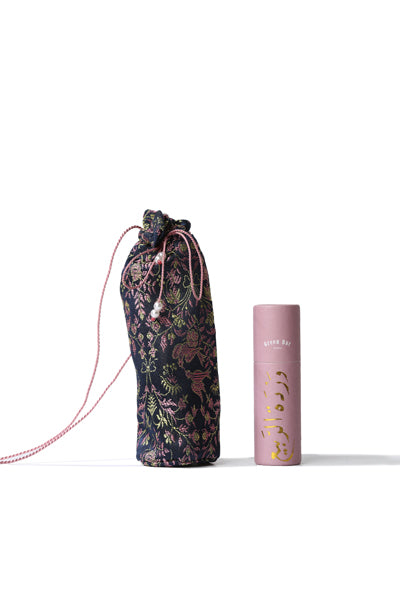 Lip Balm and Brocade Pouch