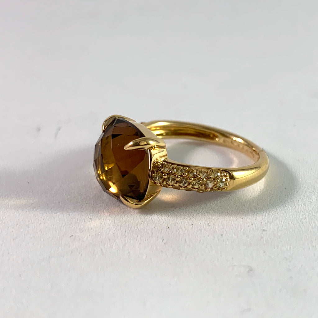 Chimento vintage gold ring
