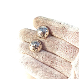 Niels Erik From, Denmark. Vintage Mid Century Sterling Silver Pair of Cufflinks.