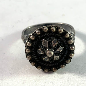 Antique Victorian (or earlier) Solid Silver Ring.