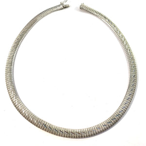 Germany Vintage Solid 835 Silver Necklace. 1.37oz / 42.7gram