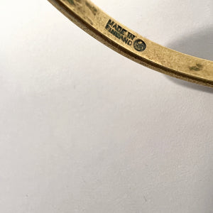Millie Behrens for David Andersen, Norway Large Sterling Silver Yellow Enamel Vintage Stud Earrings.