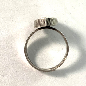 Finnfeelings Finland Sterling Silver Rock Crystal Ring.