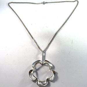 Theresia Hvorslev silver necklace