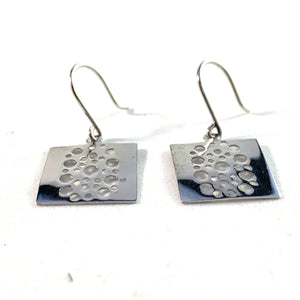 Kultakeskus, Finland. Design Liisa Vitali, Sterling Silver Earrings