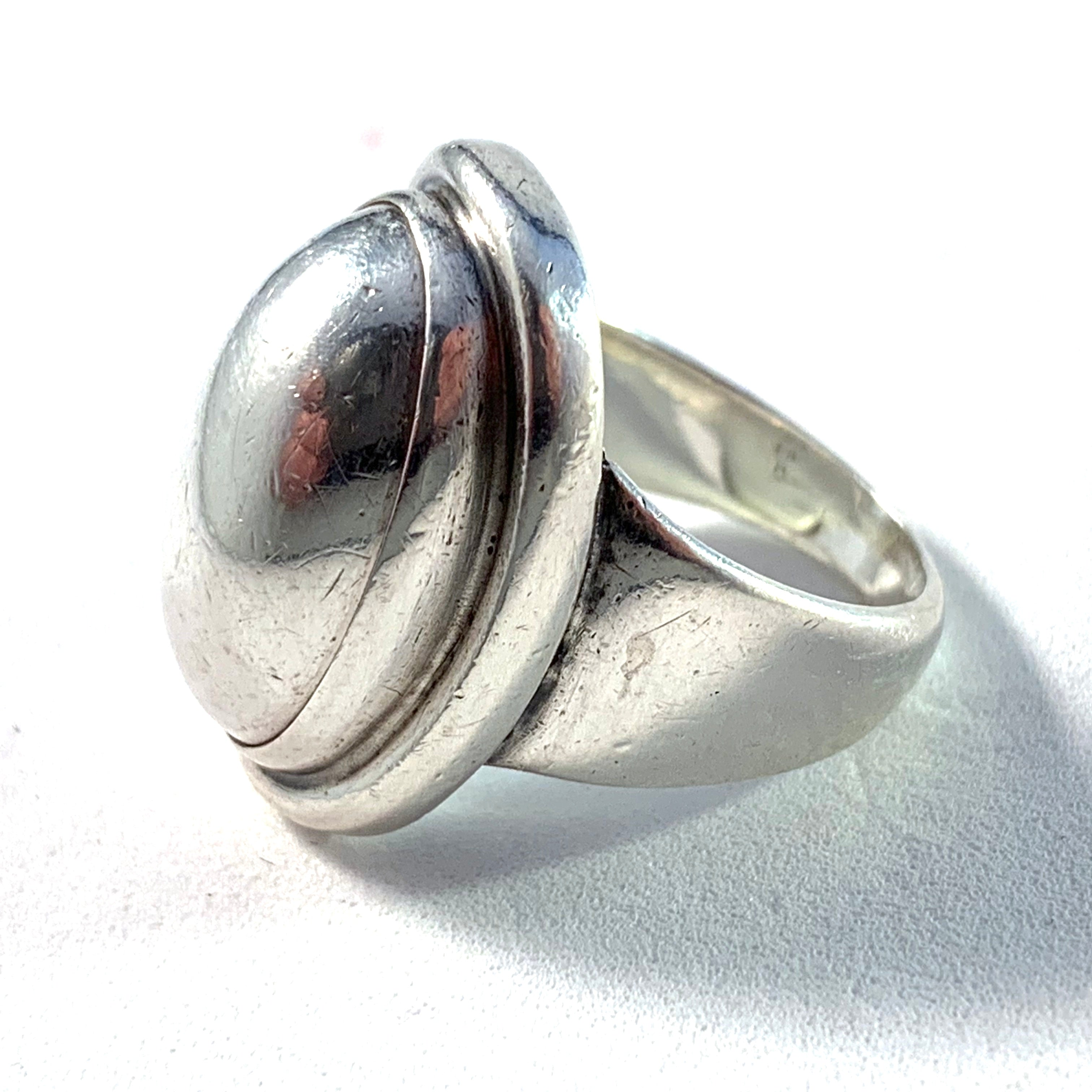 Georg Jensen 46A silver ring