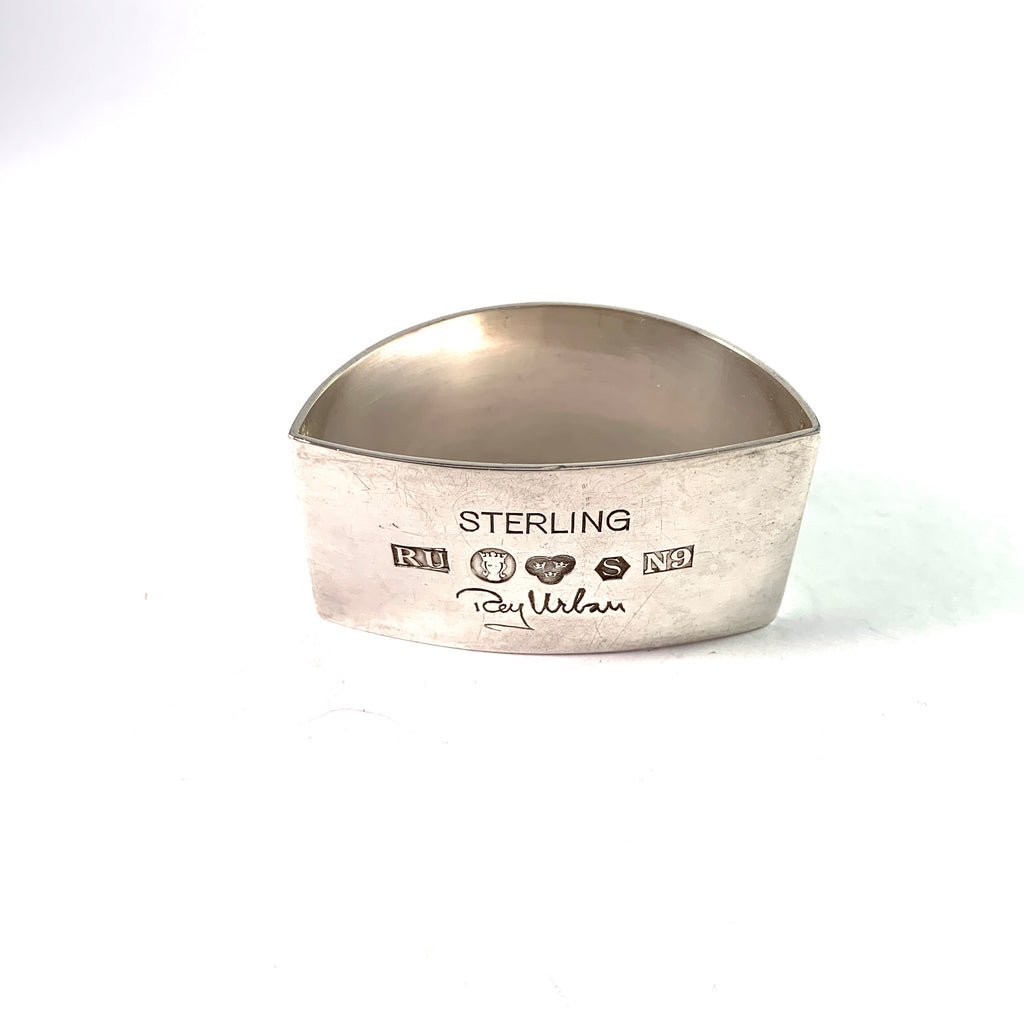 Rey Urban, Sweden 1963. Sterling Silver Napkin Ring.