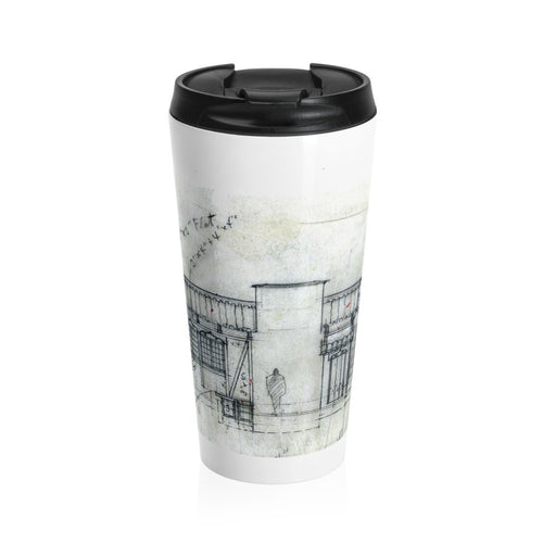 Remaining Stock Closeout: Weber House Sketch Travel Mug