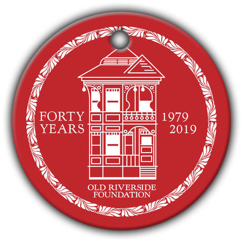Holiday Ornament: ORF 40th Anniversary