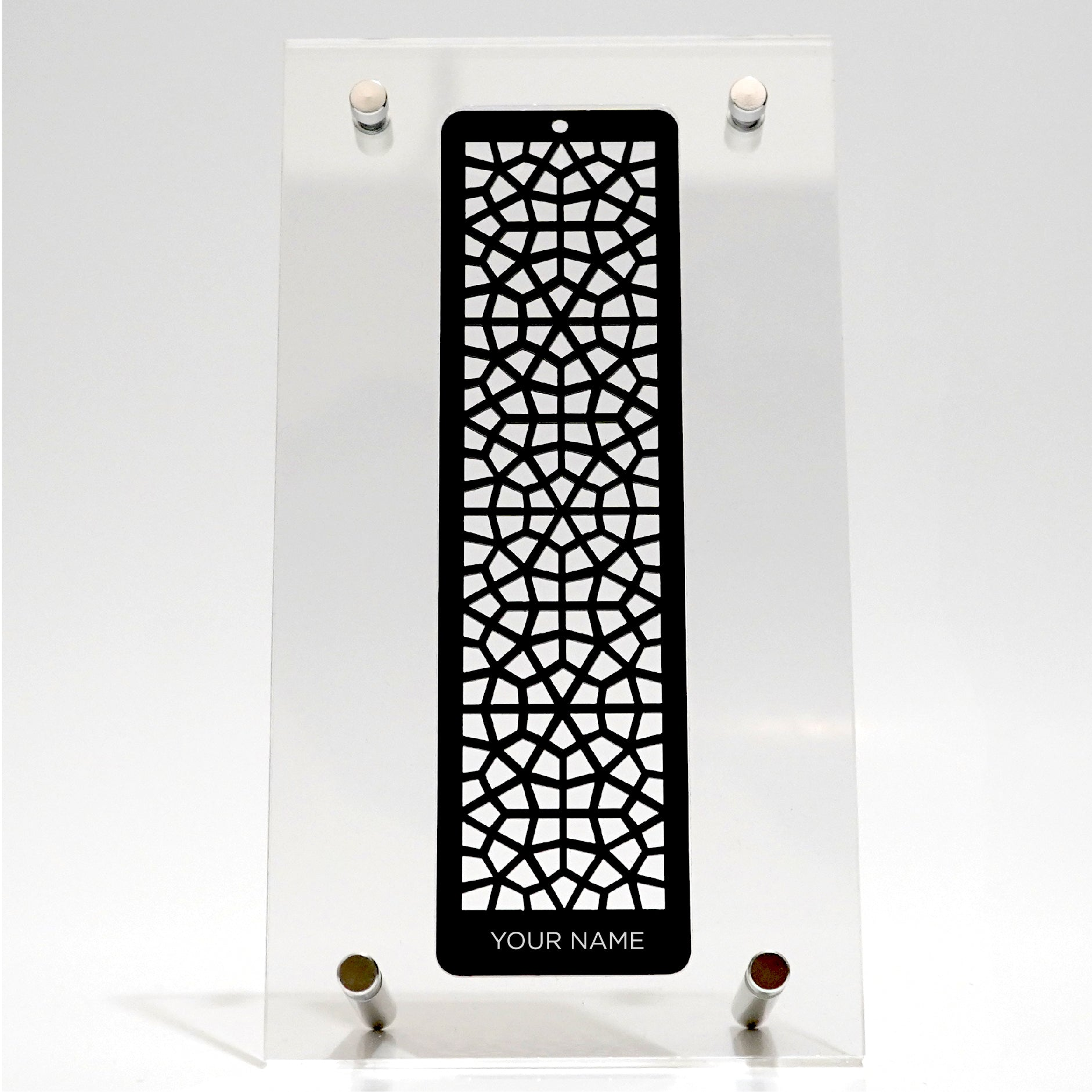 Arabesque Bookmark - Traditional Islamic Pattern