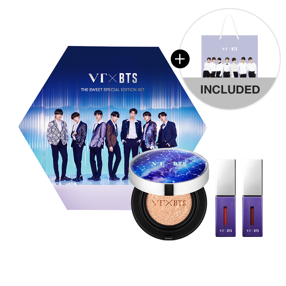 VT x BTS Edition Season 1 | VT BTS THE SWEET SPECIAL EDITION SET