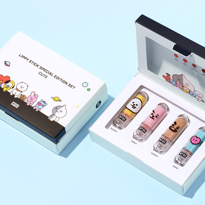 BT21 x VT Special Edition Lippy Stick | LIPPY STICK SPECIAL EDITION SET [CUTE]