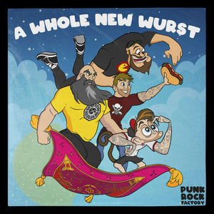 A Whole New Wurst CD Punk Rock Factory