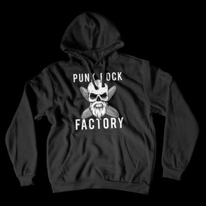 Skull Logo Hoodie Apparel Punk Rock Factory