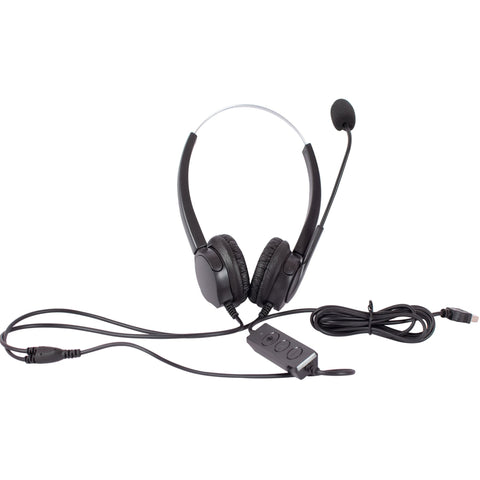 USB Noise Cancellation Headset with Mic - H606