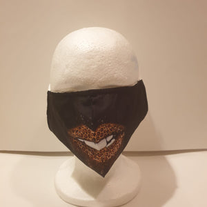 Unisex reusable face mask with funny designs