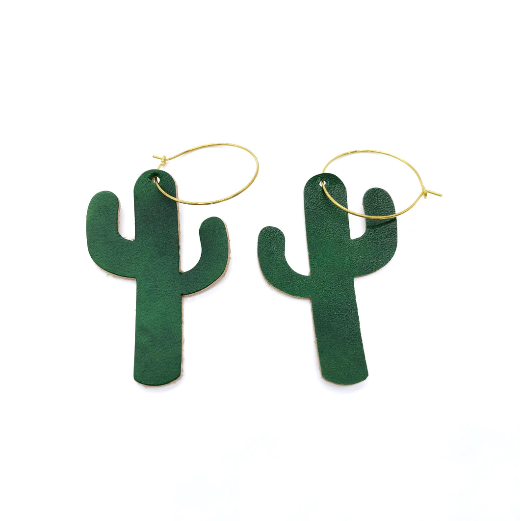 Cactus Earrings/ Plants earrings / Light weight earrings minimalist
