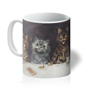 Bachelor Party by Louis Wain Mug