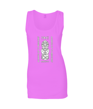 Loki Viking God of Mischief Gildan Ladies SoftStyle® Tank Top