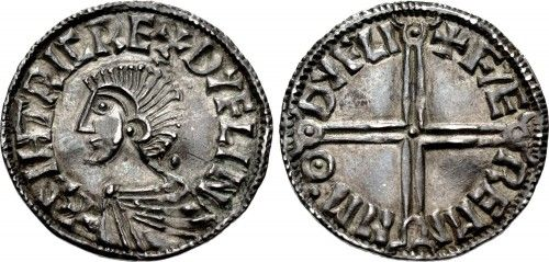 Viking Coin Replica in English Pewter