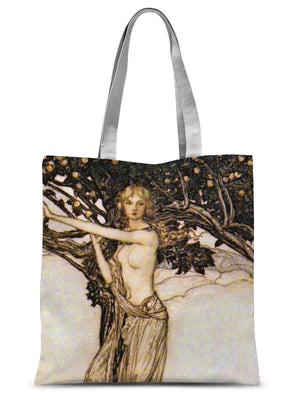 Freya - Arthur Rackham 1910 Sublimation Tote Bag